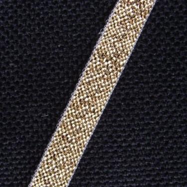 Panglica metalizata  6mm -5metri