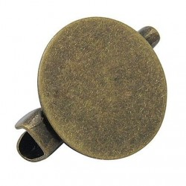 Baza brosa platou 15mm bronz