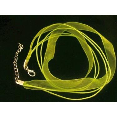 Baza colier -snur organza