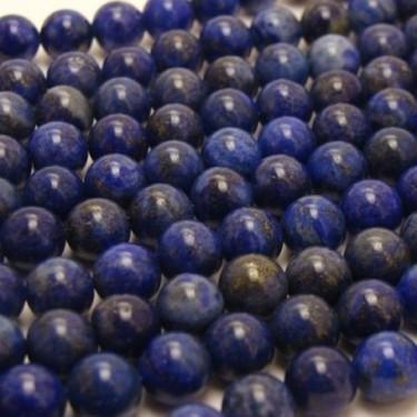 Margele lapis lazuli  8mm 39cm max.49buc