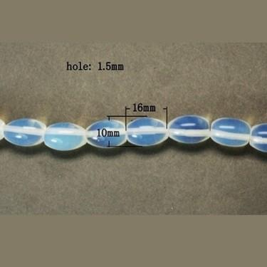 Margele opal 16*10mm oval