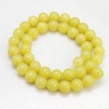 Margele jad lemon  6mm