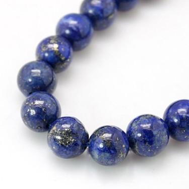 Margele lapis lazuli 10mm 39cm max.38buc