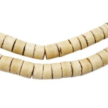 Margele cocos crem 3.5*5mm (56cm)