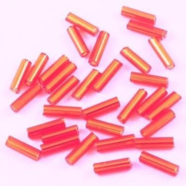 Margele nisip tubulare 6mm irizate (50g)