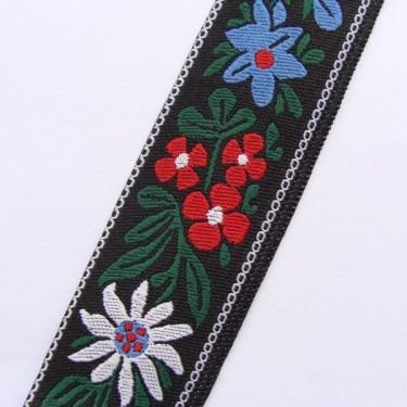 Panglica flori model3 25mm-1metru