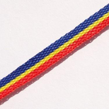 Panglica tricolor   5mm -3metri
