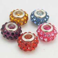 Margele shamballa 15*9mm