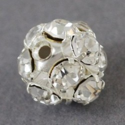 Margele rhinestone 8mm