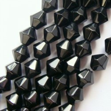 Margele sticla biconice  4*5mm (32cm)