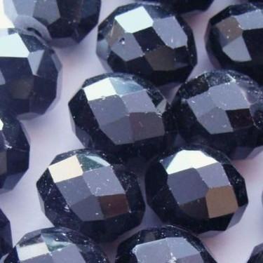 Margele sticla imitatie cristal  8*12mm-4buc
