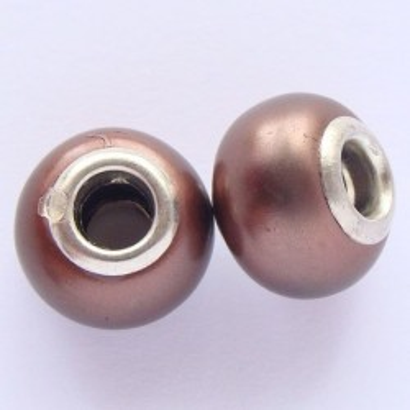 Margele acrilice Pandora 11*13,5mm sidefate