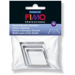 FIMO set 3 cuttere metalice 872404 romb