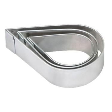 FIMO set 3 cuttere metalice picatura