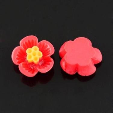 Cabochon rasina flori 16mm