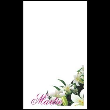 Cartoane martisoare 5.4*8.9 -100buc crini