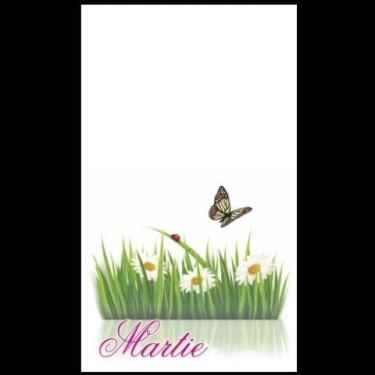 Cartoane martisoare 5.4*8.9 -100buc fluture