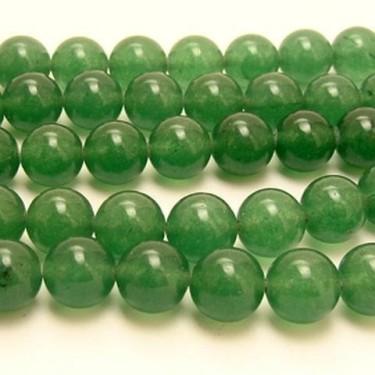 Margele aventurin verde 8mm