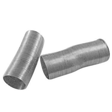 Sarma memorie inel argintie 50spire - 0.6mm