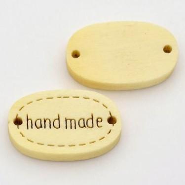 """Link lemn """"hand made"""" 19*11mm -5buc"""