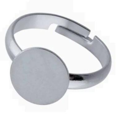 Baza inel platou 10mm argintie