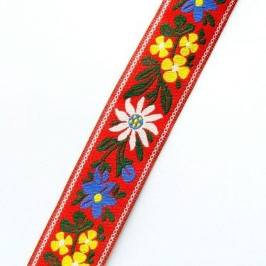 Panglica flori model4 15mm -1metru