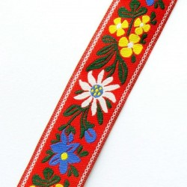 Panglica flori model4 24mm -1metru