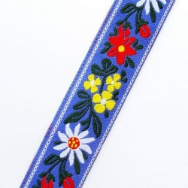 Panglica flori model5 23mm -1metru