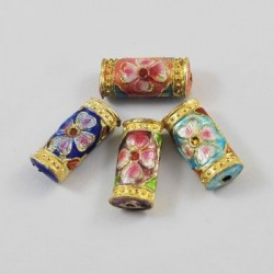 Margele cloisonne 20*9*5mm