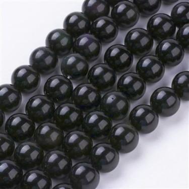 Margele obsidian 8mm