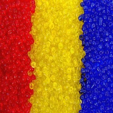 Margele nisip 2mm tricolor 3*50g