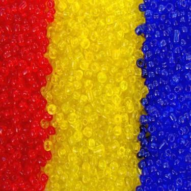 Margele nisip 3mm tricolor 3*50g