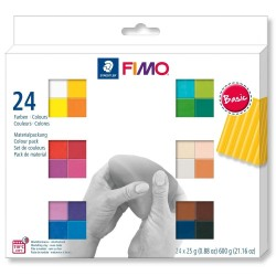 FIMO Soft -set 24 culori -600g
