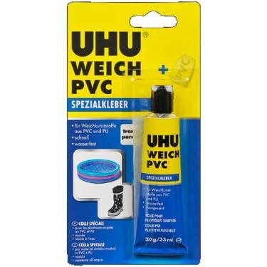Adeziv UHU PVC+plastic moale 30g 46655